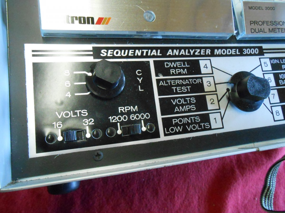 Actron Dual Sequential Analyzer Model 3000 ( Matco ) | The
