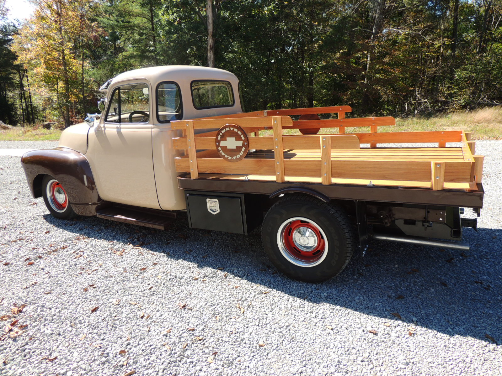 1954 Chevy Flatbed Truck The H A M B