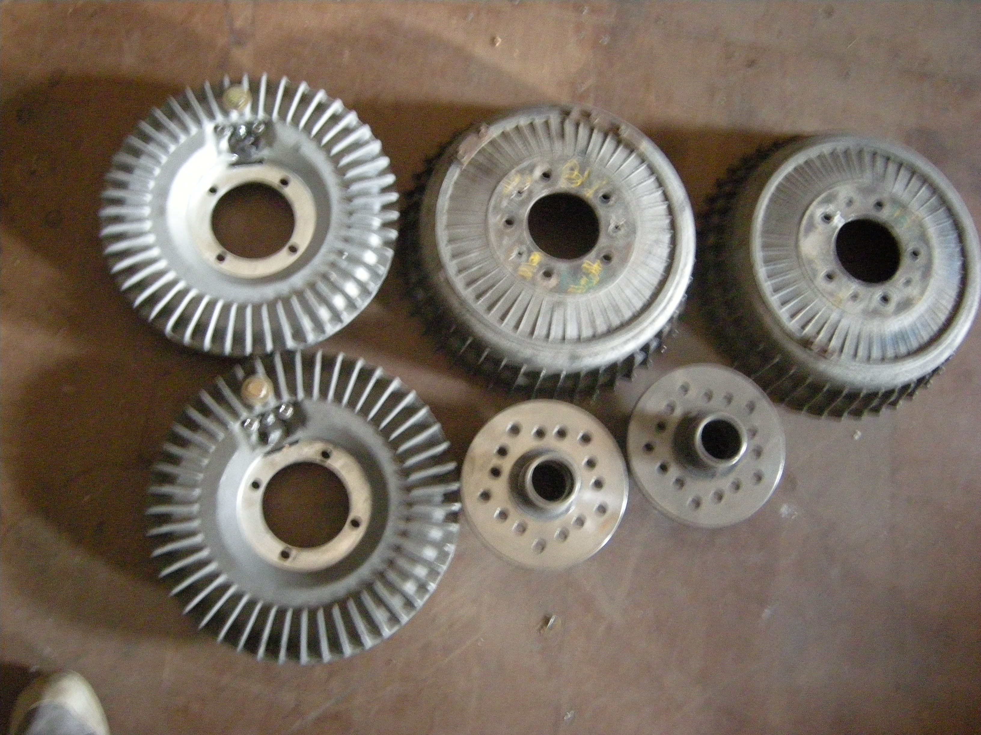 Wilson Welding Finned Backing Plate Brakes New The H A M B