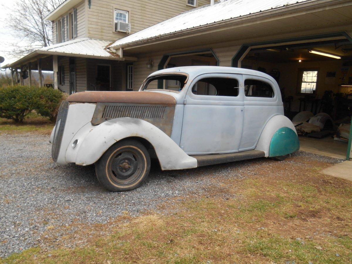 1936 ford 2 door slant back sedan kustom the h a m b for 1936 ford 2 door sedan