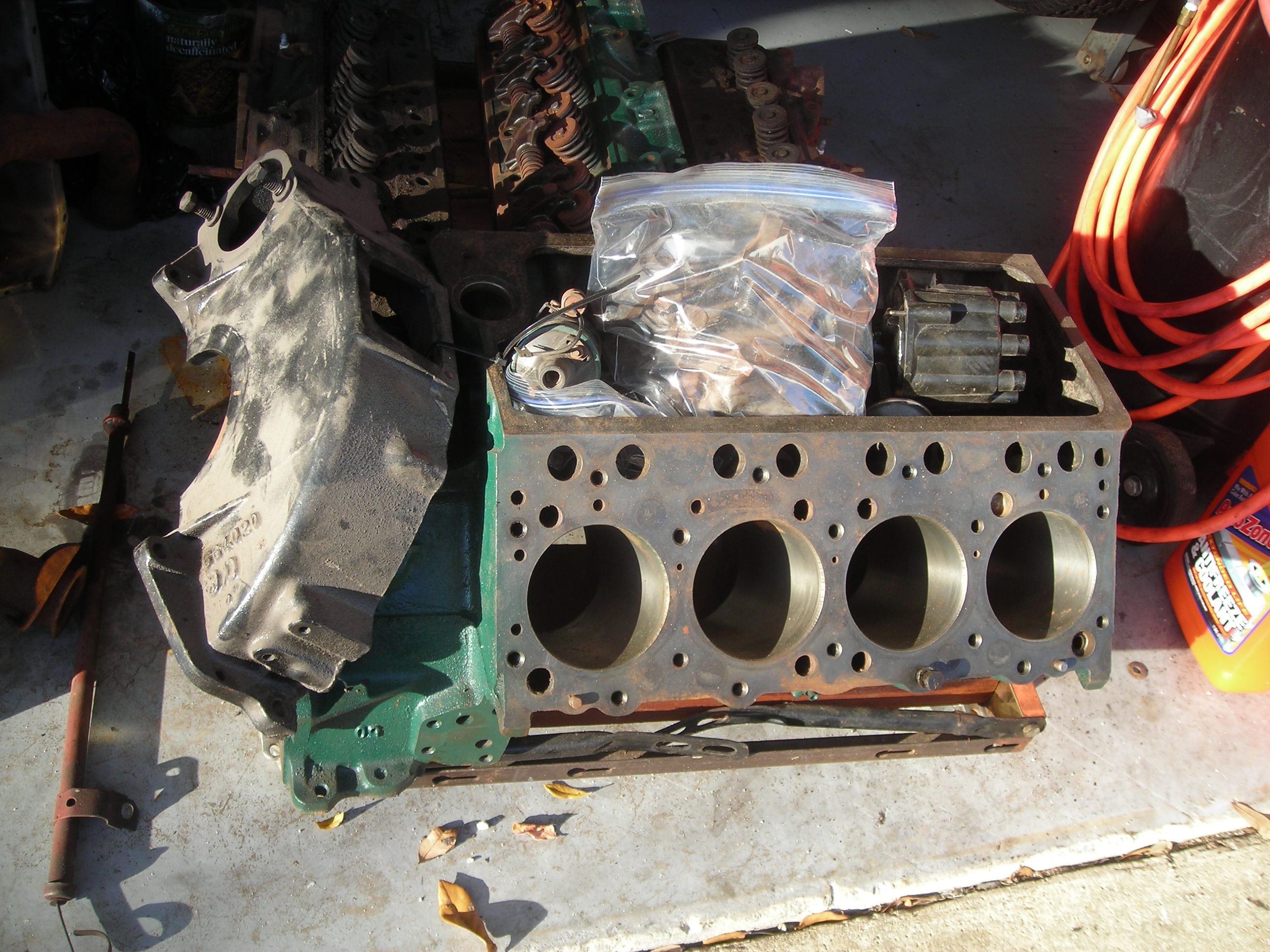 1956 Oldsmobile 324 complete engine (apart) | The H A M B