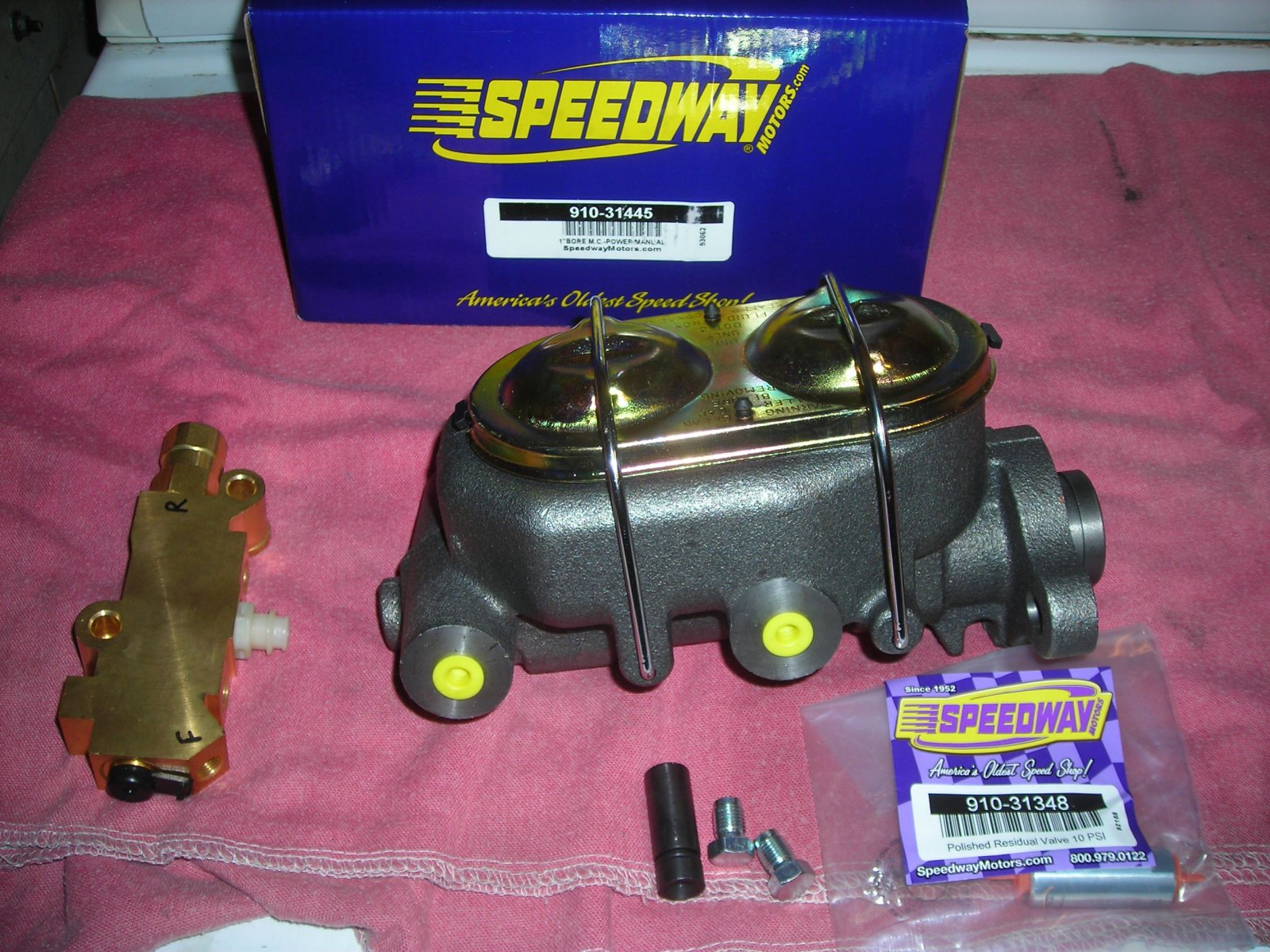 Technical - 1961 Olds 88 dual master cylinder conversion??   The