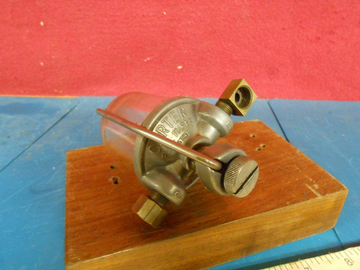 Vintage Carter Glass Fuel Filter Sold The Hamb Filters Dscn8787