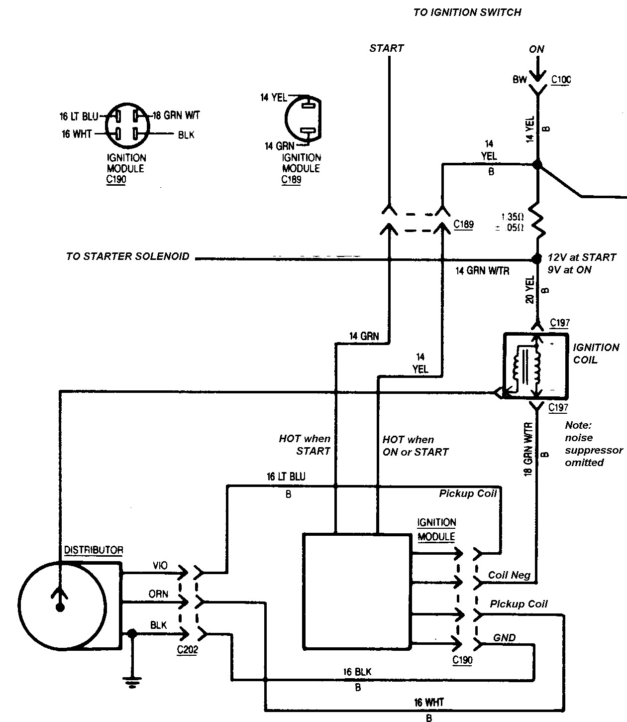 Ignition Coil Wiring Diagram Diagram Stream