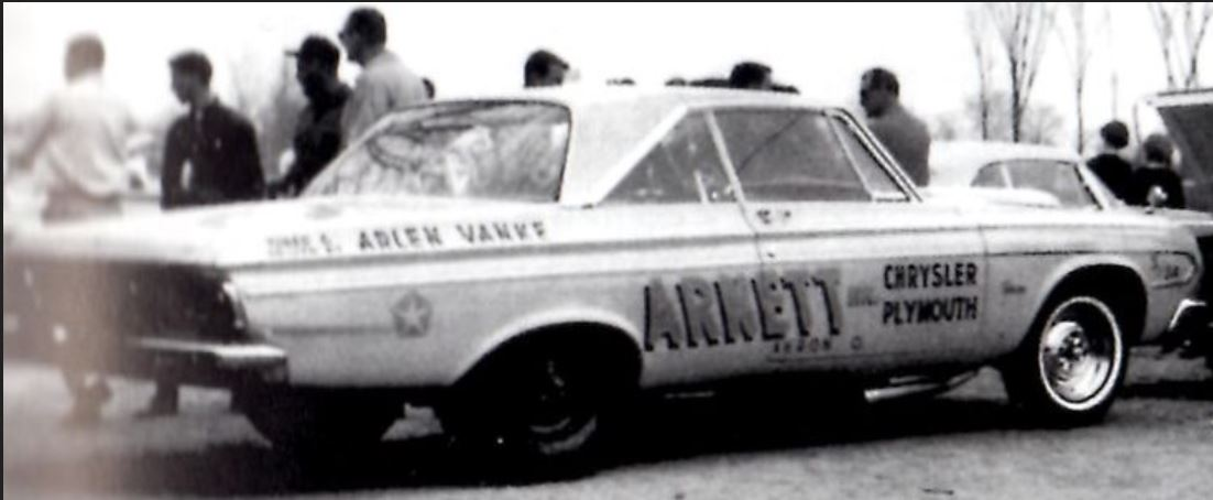 Early Arlen Vanke Arnett Chrysler Plymouth and stock.JPG