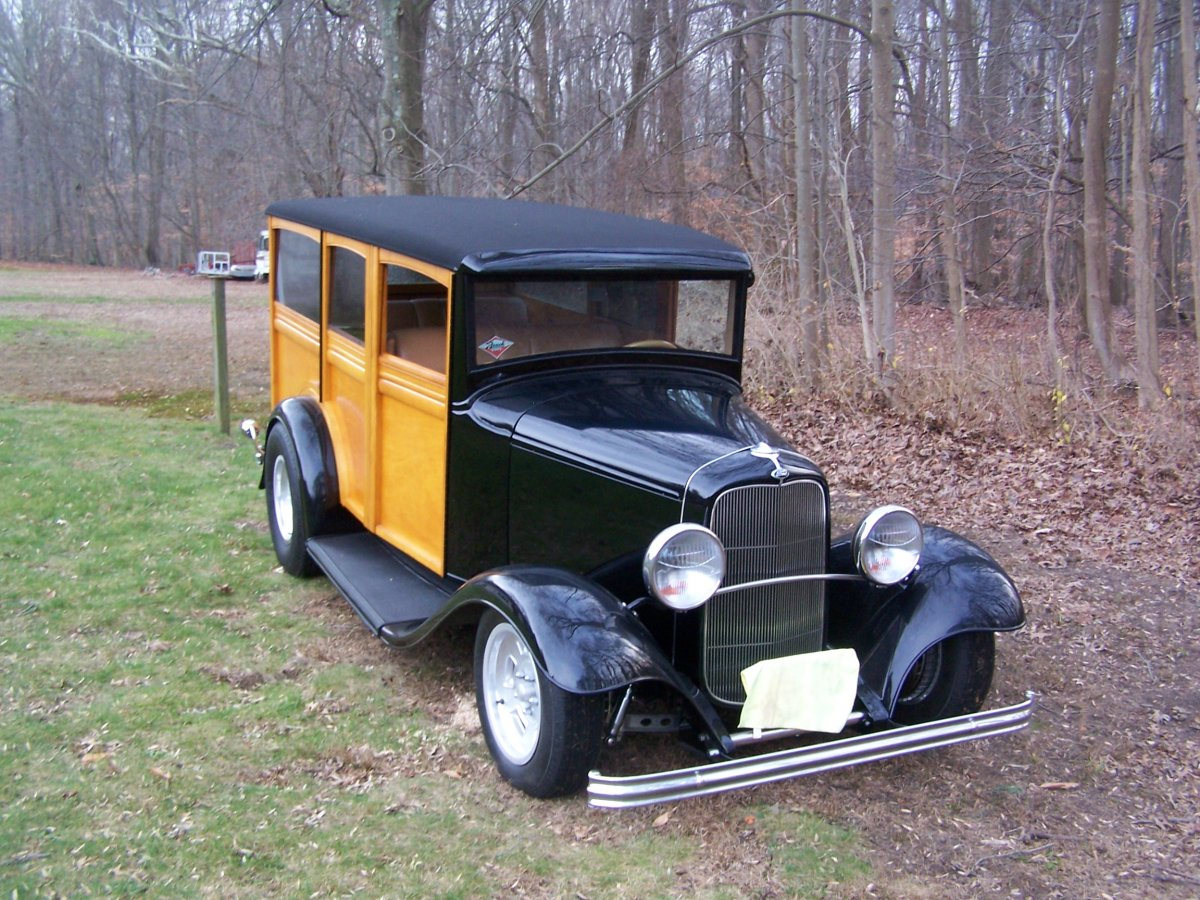 1932 Ford Woodie Wagon Hot Rod | The H.A.M.B.