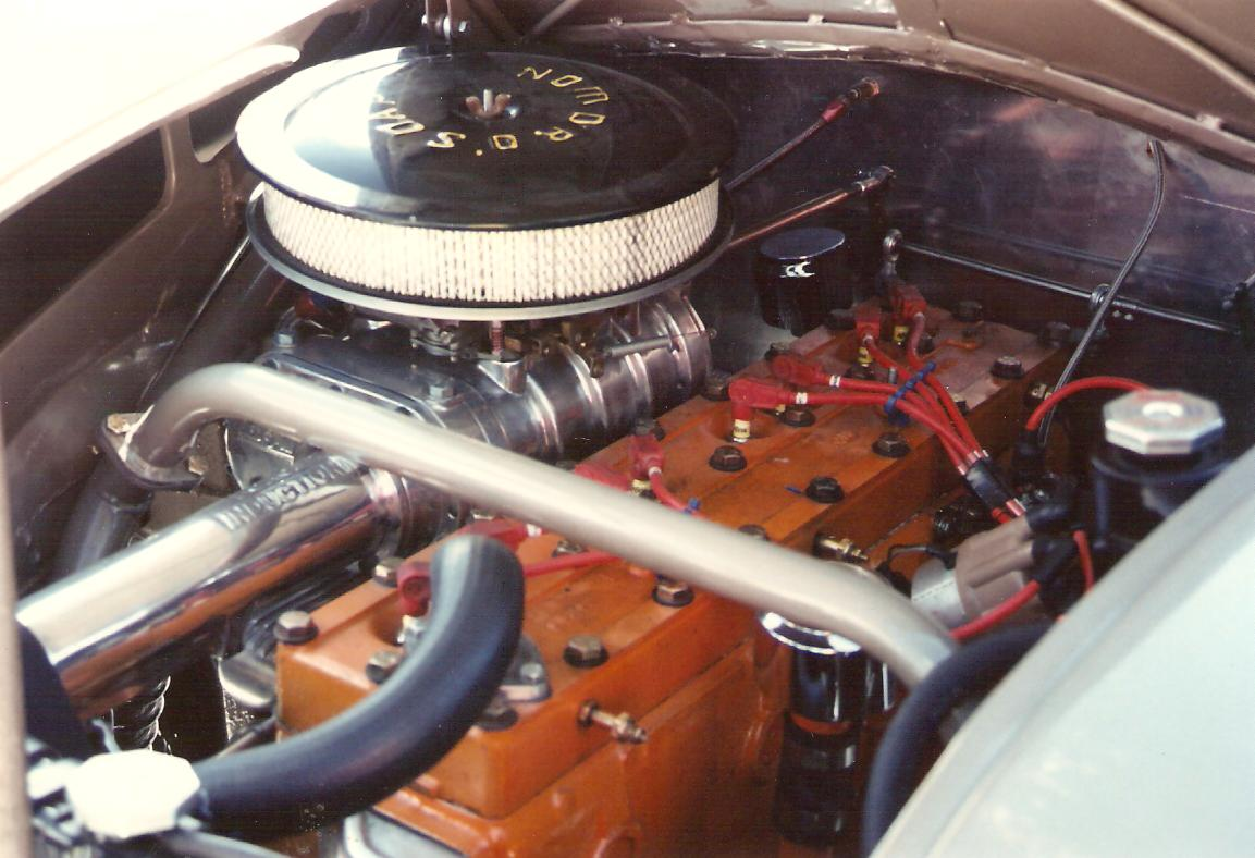 Ed Hegarty DeSoto Airflow - Dave Dozier Supercharged Chrysler Straight 8 - 1989.jpg