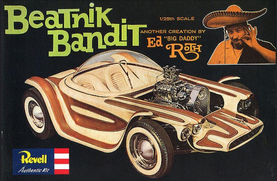 Ed Roths Beatnick Bandit Model kit.JPG
