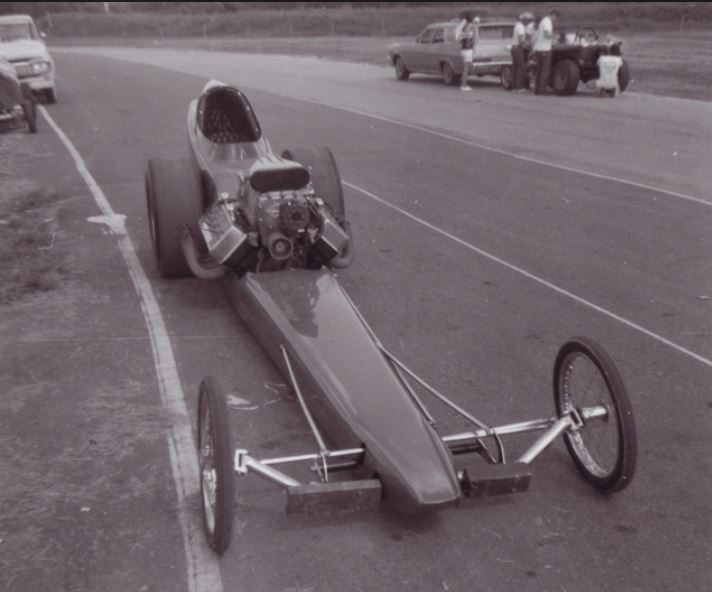 Eddie Bauman's Banzai AA Fuel Dragster, Green Valley.JPG
