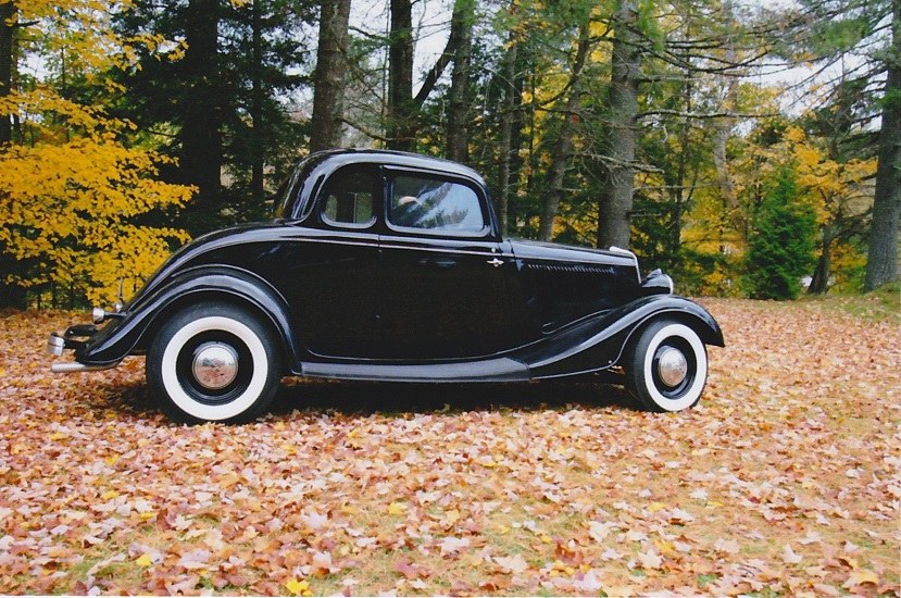 39 34 ford 5 window coupe the h a m b. Black Bedroom Furniture Sets. Home Design Ideas