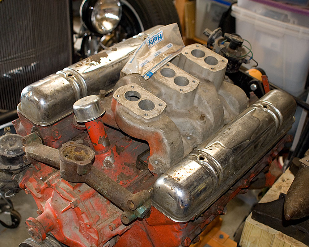 SOLD! 322 Buick Nailhead, 1939 Ford Transmission and Adapter