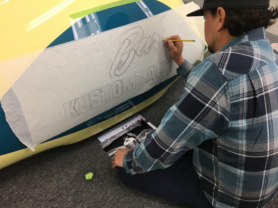 Eric Reyes lettering the Beast 4 'liner.jpg