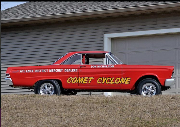 History - 64/65 Comets old drag cars lets see pictures