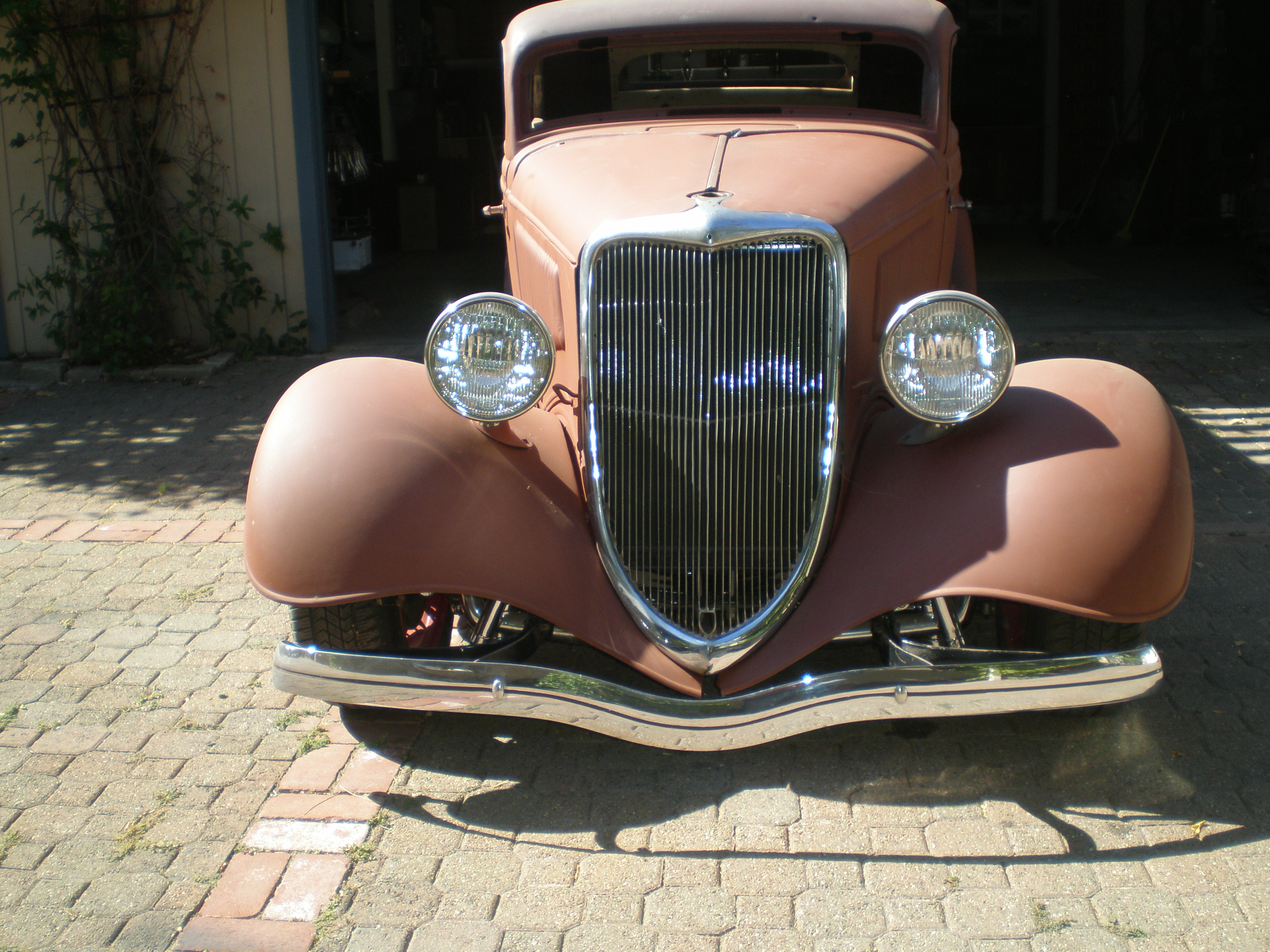 16 1934 Ford 3 Window Coupe Project For Sale 1933