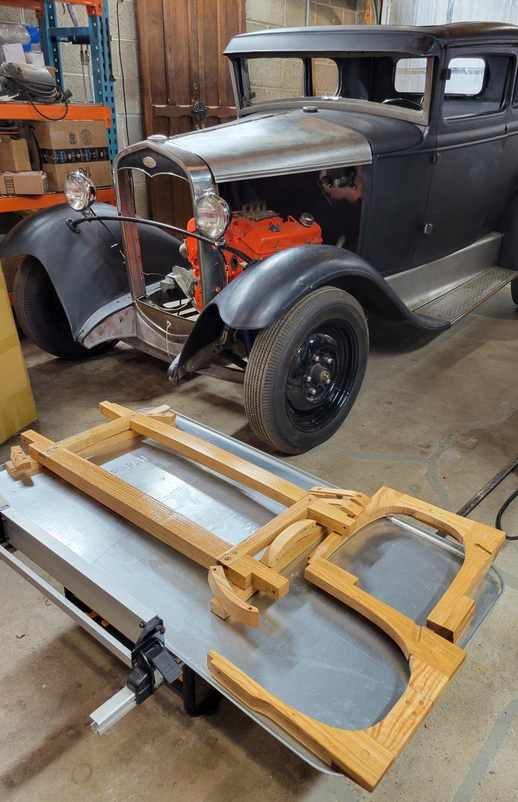 First Coat Sealer on Model A Wood.jpg