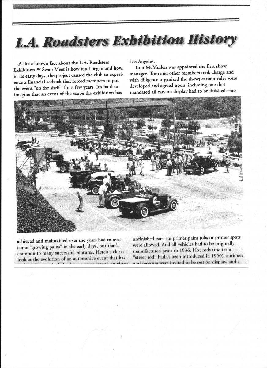 First LAR show July 31,1960 Hollywood Bowl parking lot.jpg