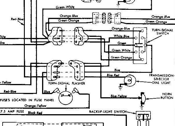 1956 ford car wiring diagram