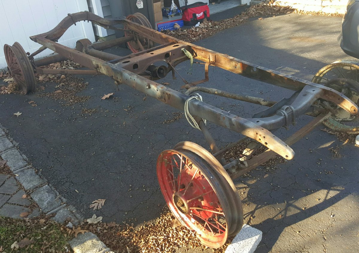Ford Model A Frame 4 sale | The H.A.M.B.