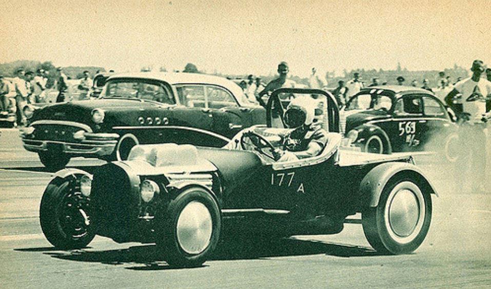 Frank Wusz and road.JPG