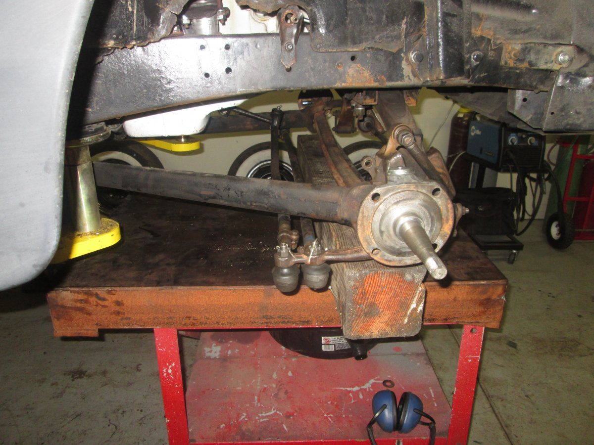 front lincoln brakes on 002.JPG