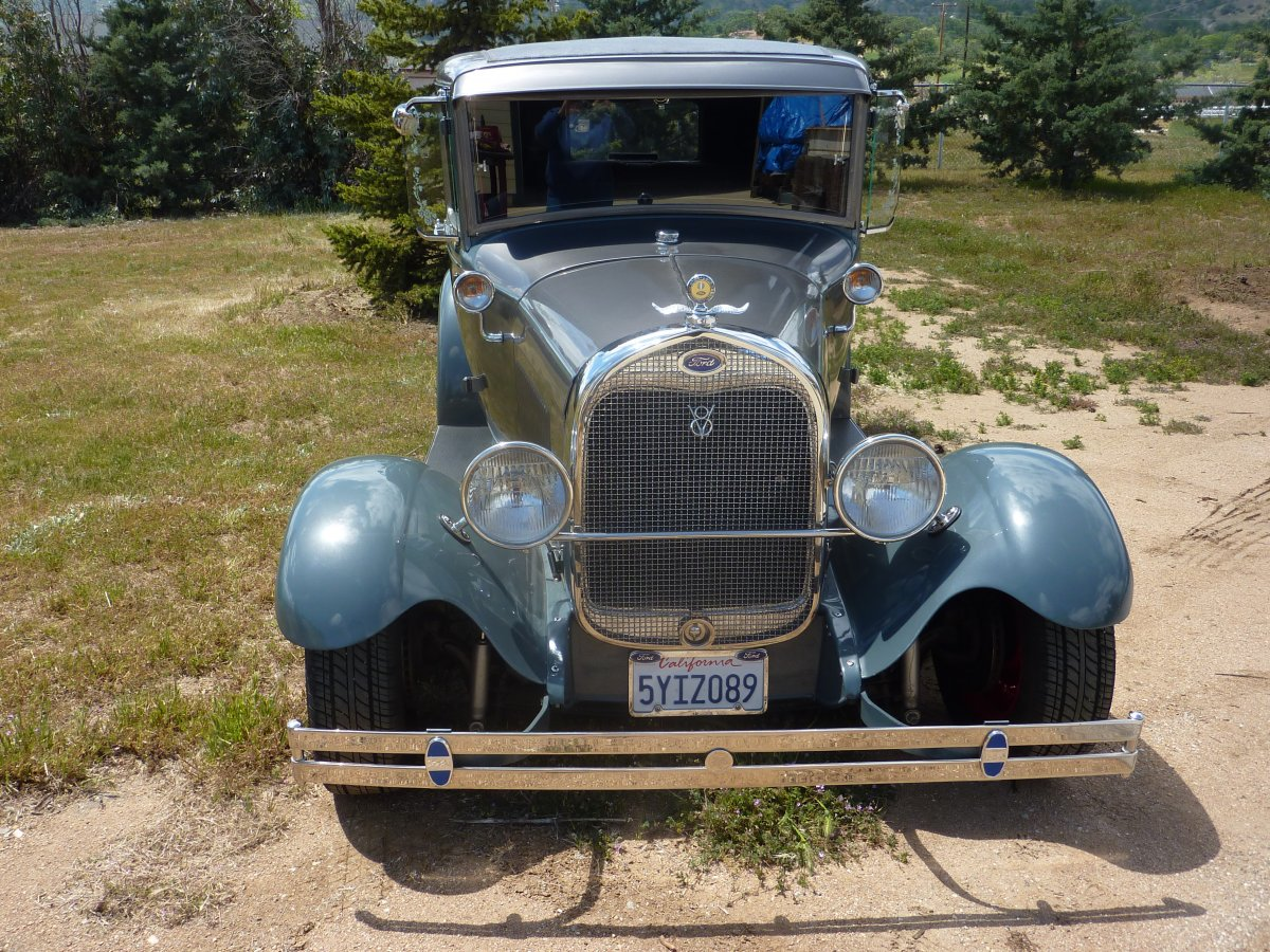 Ford 1929 fordor /w 1950 flathead for sale Model A Hot Rod | The ...