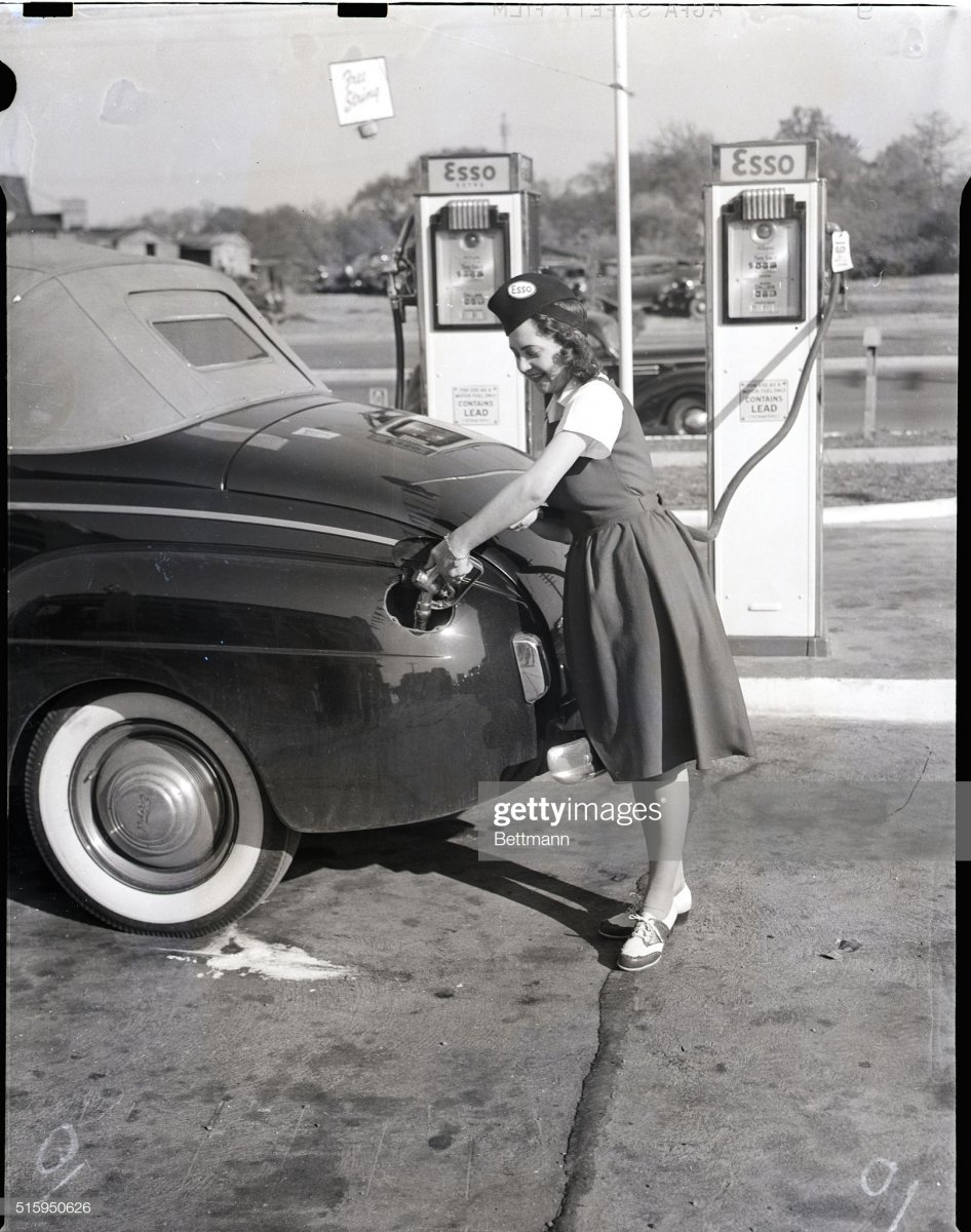 gas16  1941-Army Takes Men-So Gals Dispense Gas.jpg