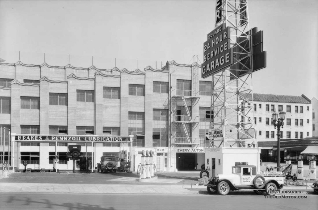 gas6 Pellissier Square Garage located at 828 South Western Avenue in Los Angeles 3.jpg