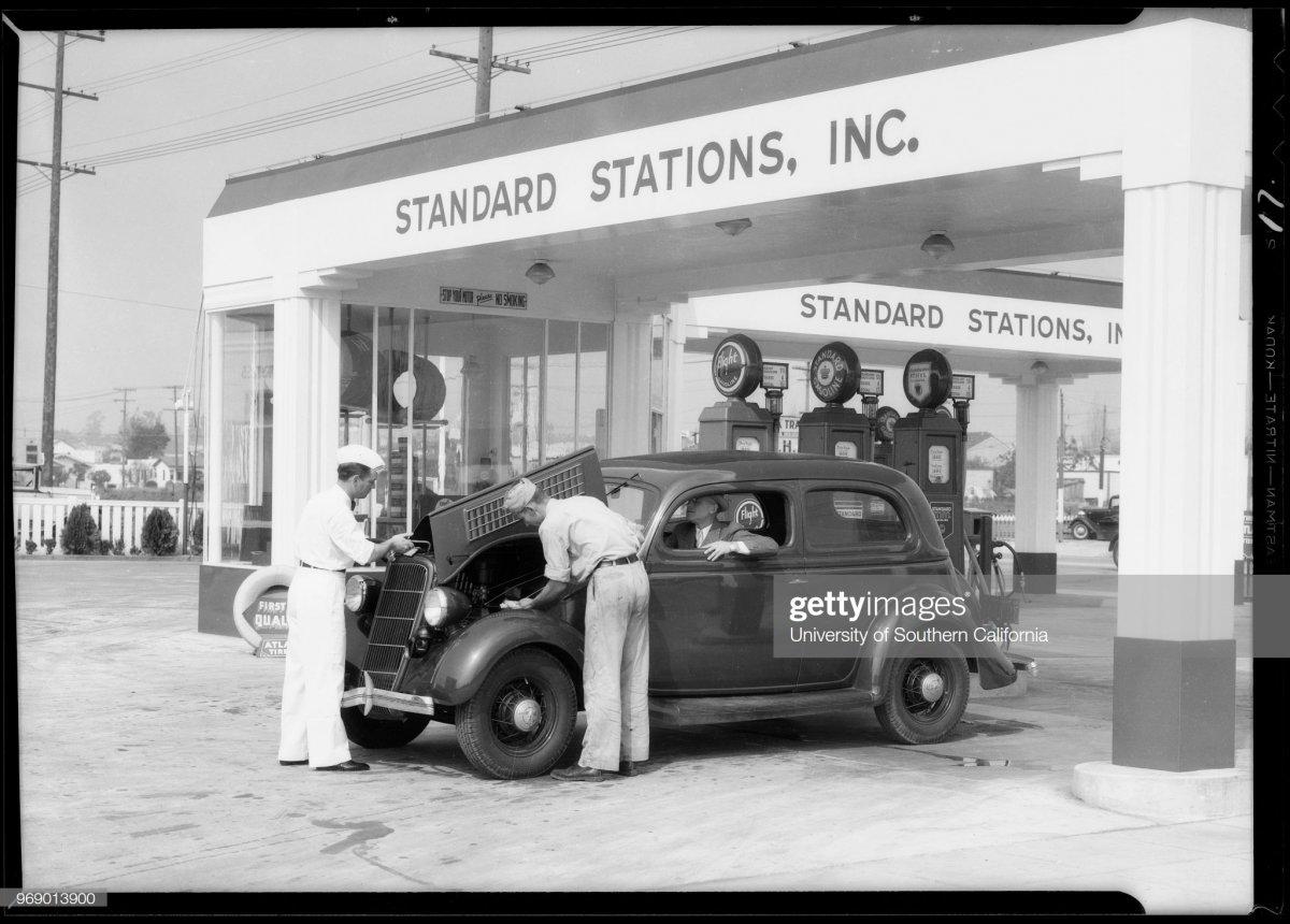 gas9 Standard Oil gas stations, Southern California, 1935.jpg