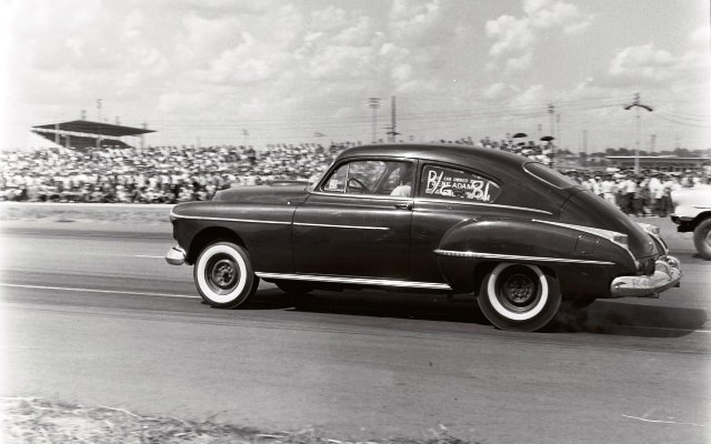 Gene Adams 1950 Oldsmobile.jpg