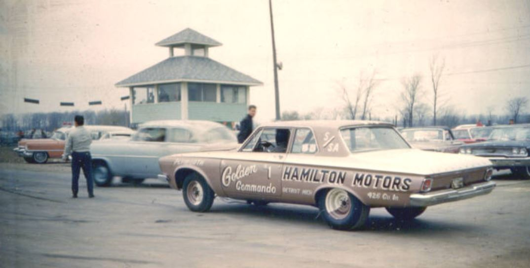 Golden Commandos 1963 at International Raceway Park outside Detroit.1.JPG
