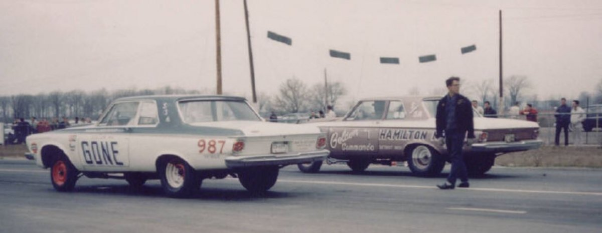 Golden Commandos 1963 at International Raceway Park outside Detroit. Color me gone6.JPG