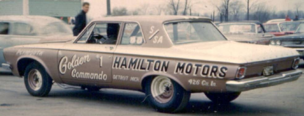 Golden Commandos 1963 at International Raceway Park outside Detroit..JPG