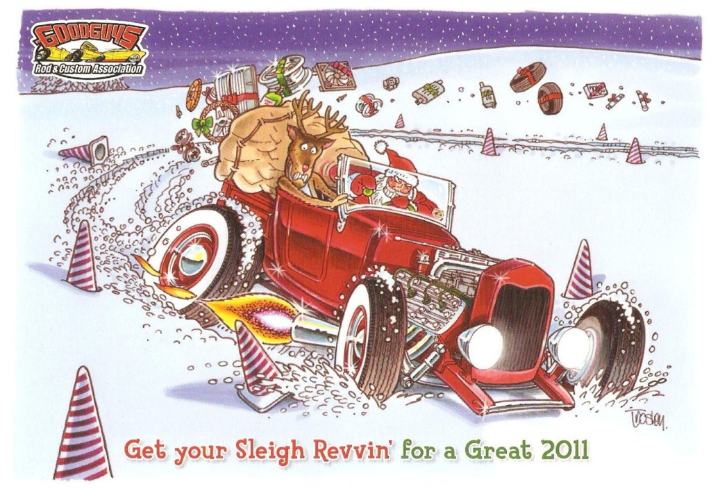 Art Inspiration Traditional Hot Rod Custom Christmas Greeting Cards Ads Other Artwork Page 2 The H A M B