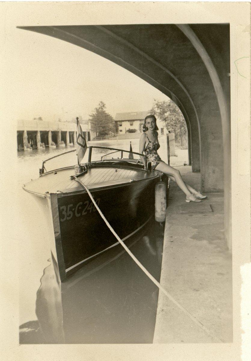 Grayhaven-mom-phil wood boat.jpg