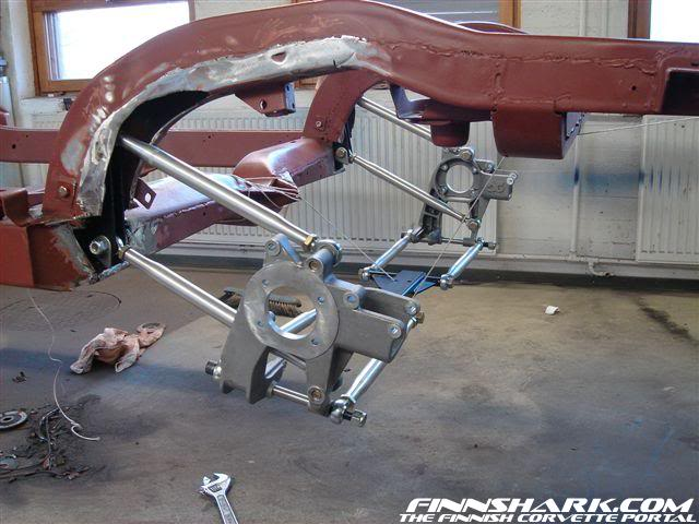 Hot Rods - Early Corvette swnig arm rear end | The H A M B
