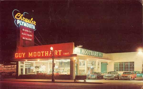 Guy Moothart Chrysler & Plymouth circa 1957.jpg