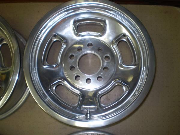 Polished Halibrand Sprint Wheels The H A M B