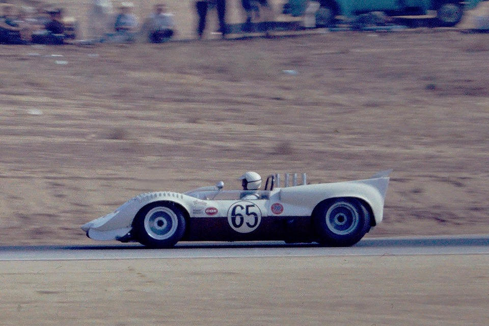 Hap Sharp, in the Chaparral 2A in 1965.jpg