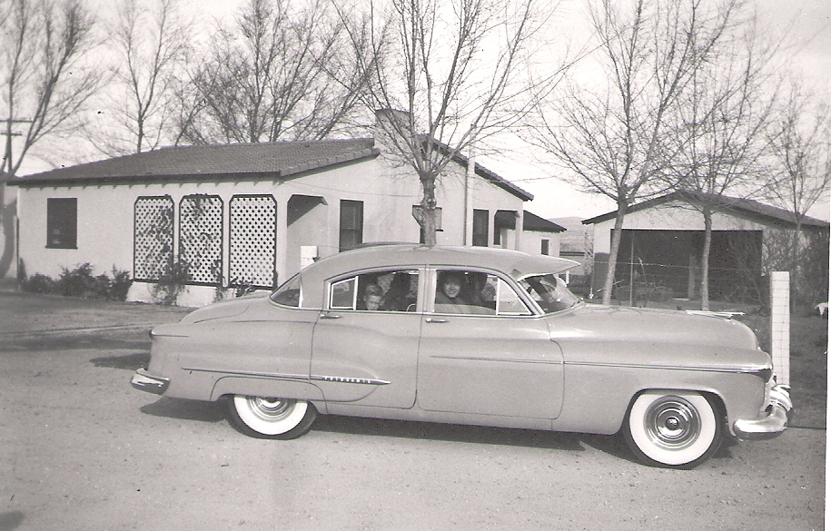 heading out in grandpa\'s new Olds.jpg