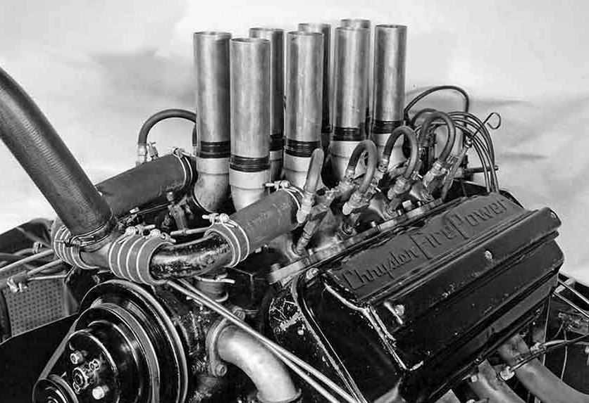 hemi15 A-311 Engine on the Chrysler Dyno..JPG