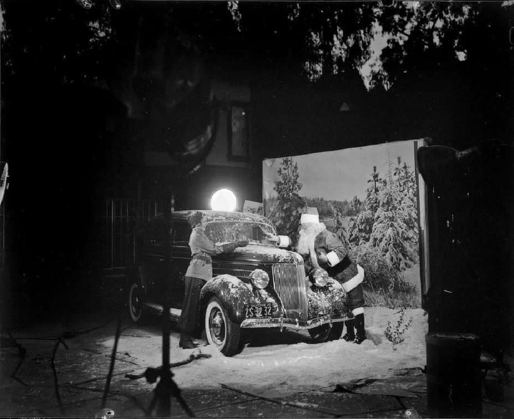 holiday Christmas car 1937 Christmas photo shoot.jpg