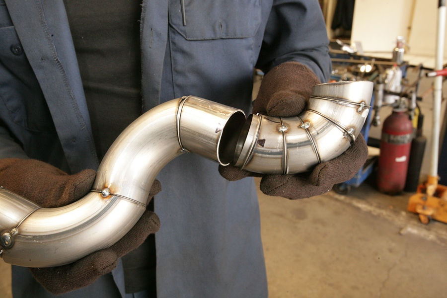 Technical exhaust pipe weld sleeves the h a m b