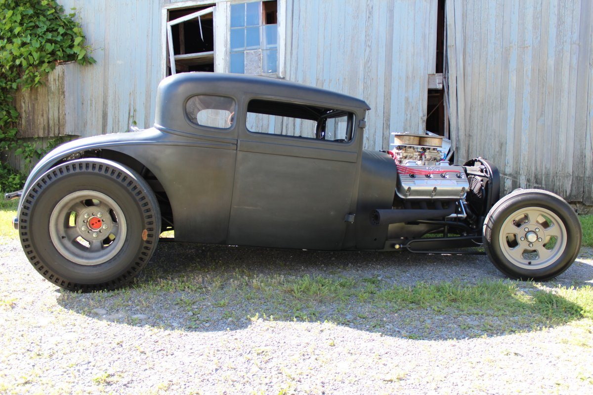 1928 Ford Model A Coupe Hot Rod 392 Hemi | The H.A.M.B.