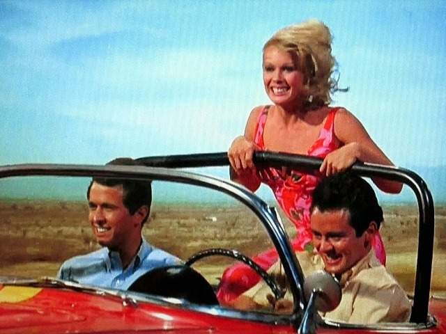 Hot Rods to Hell - Duke, Gloria, & Ernie in \'58 Vette.JPG