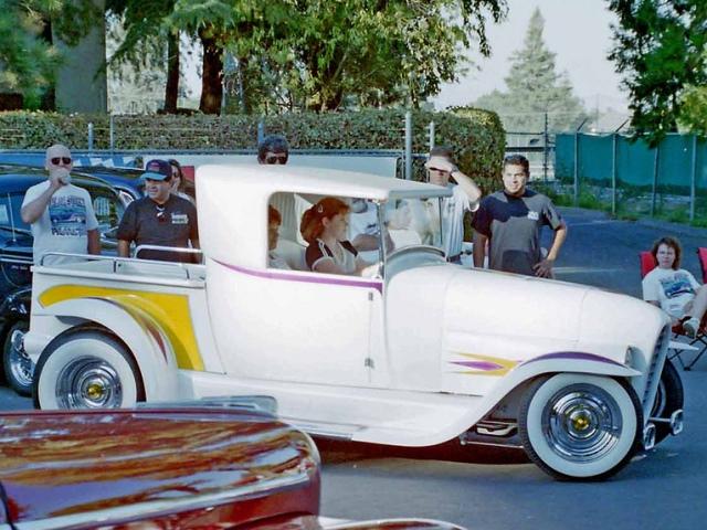 Howli Ledbetter driving the Ala Kart II (Howli Kart).jpg