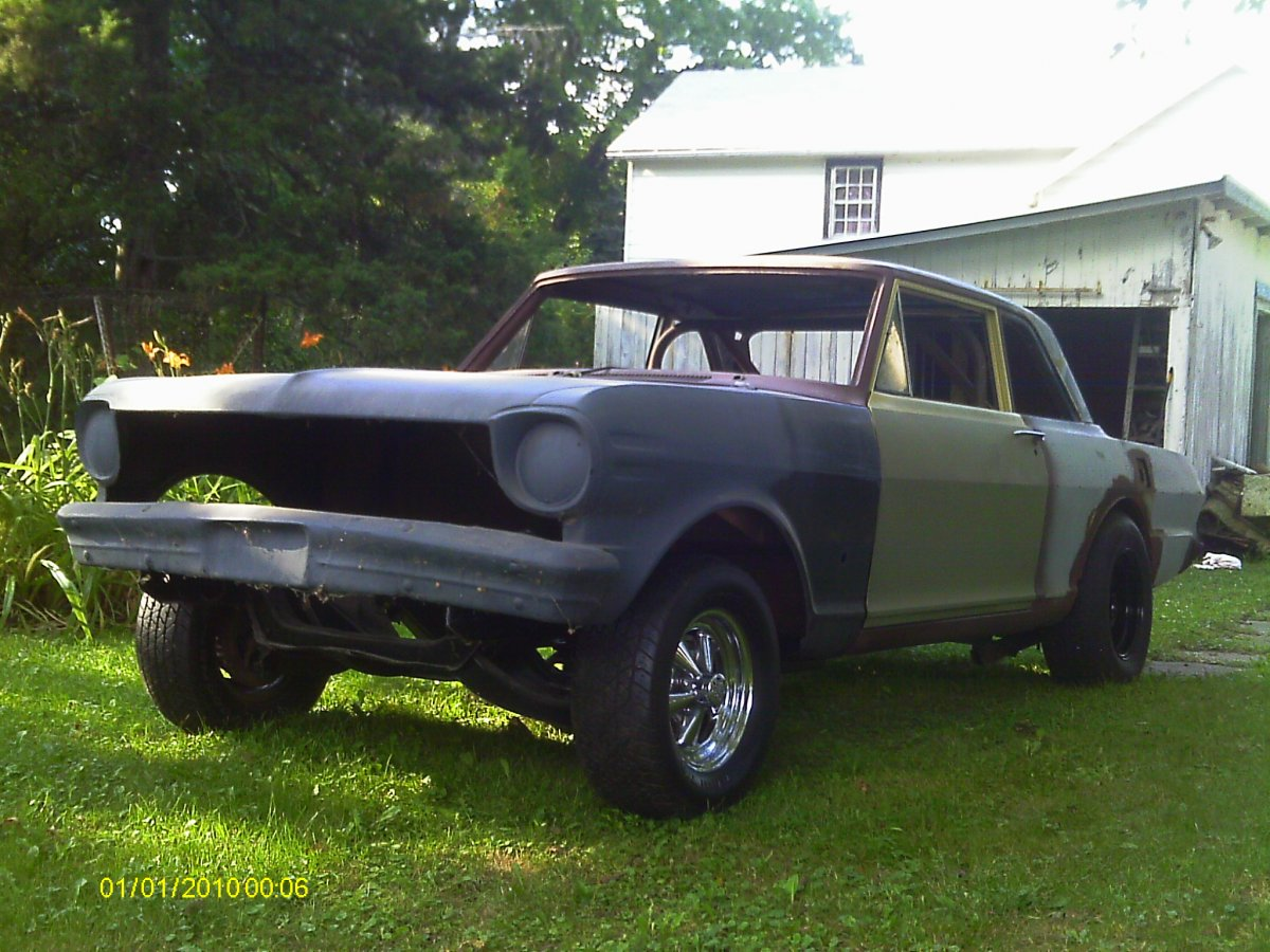 SOLD 1963 Chevy II *old gasser | The H.A.M.B.