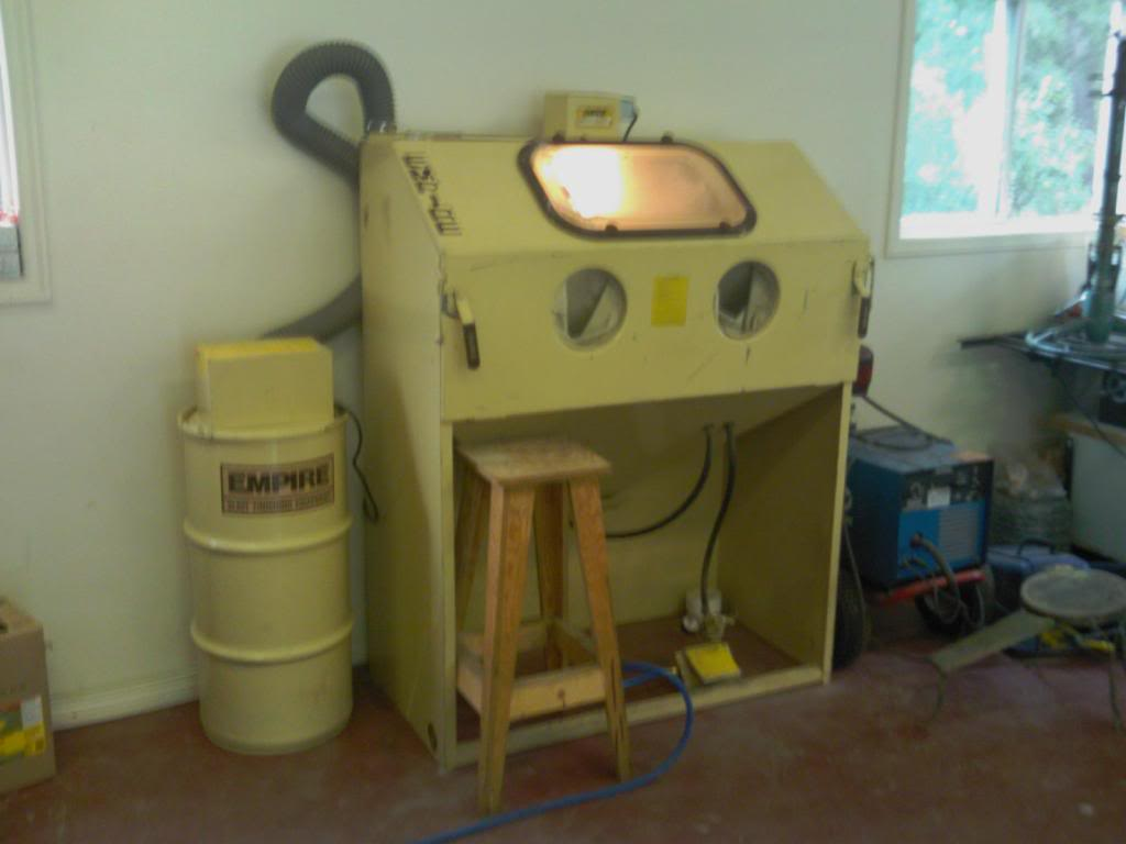 Sand Blast Cabinets | The H.A.M.B.