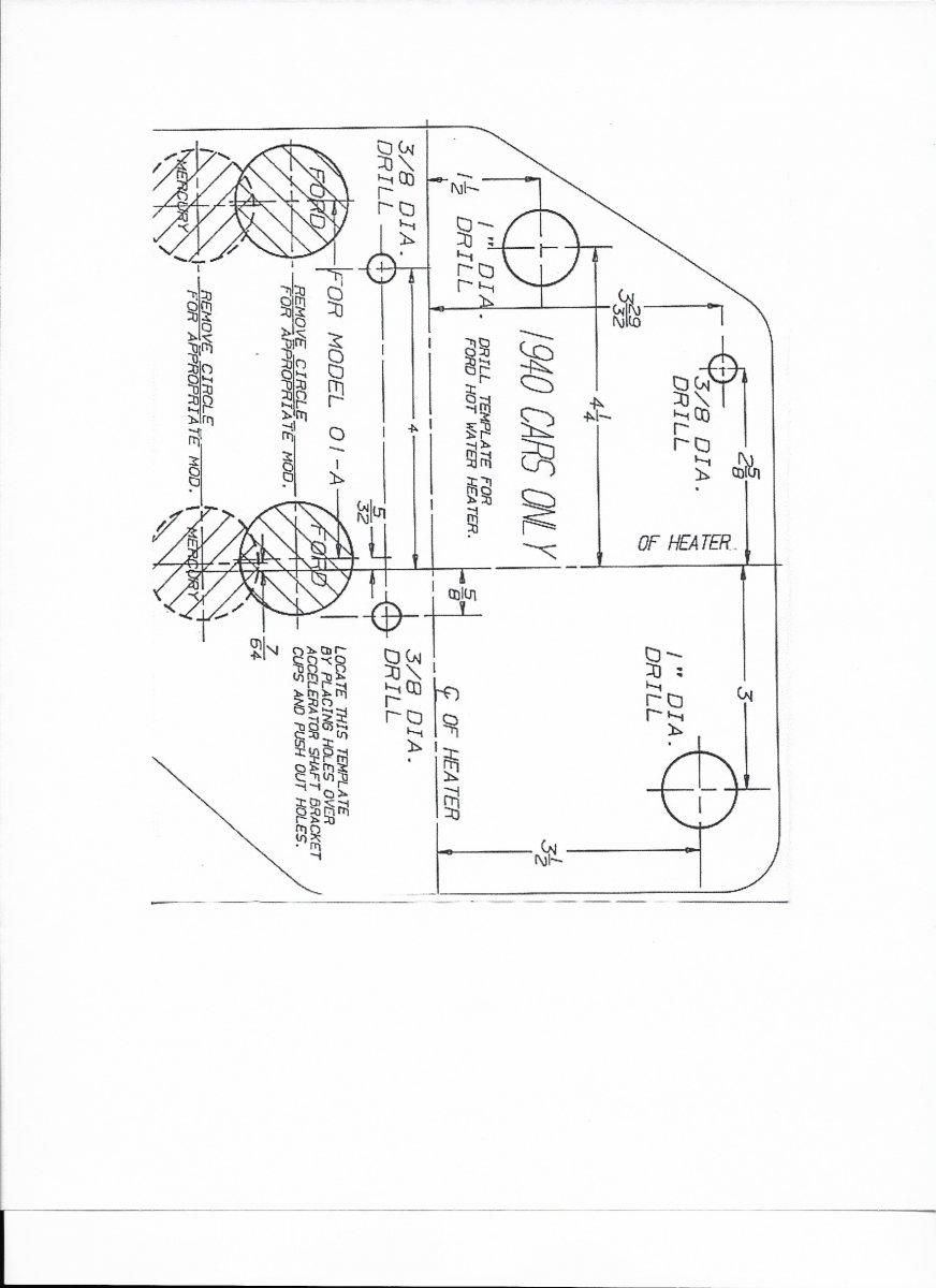 Technical 1940 Deluxe Wiring The H A M B 1949 Ford Generator Wiring Diagram  1940 Ford Heater Wiring Diagram