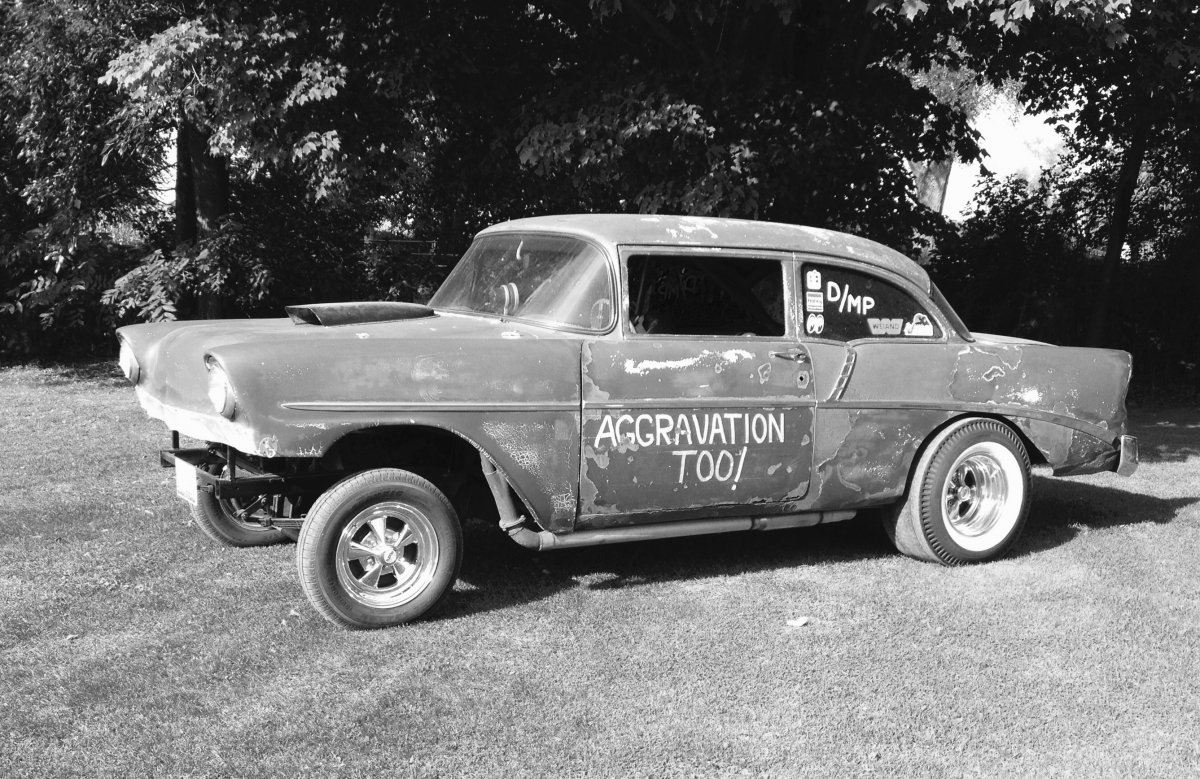 1955 1956 1957 chevy gasser frontends