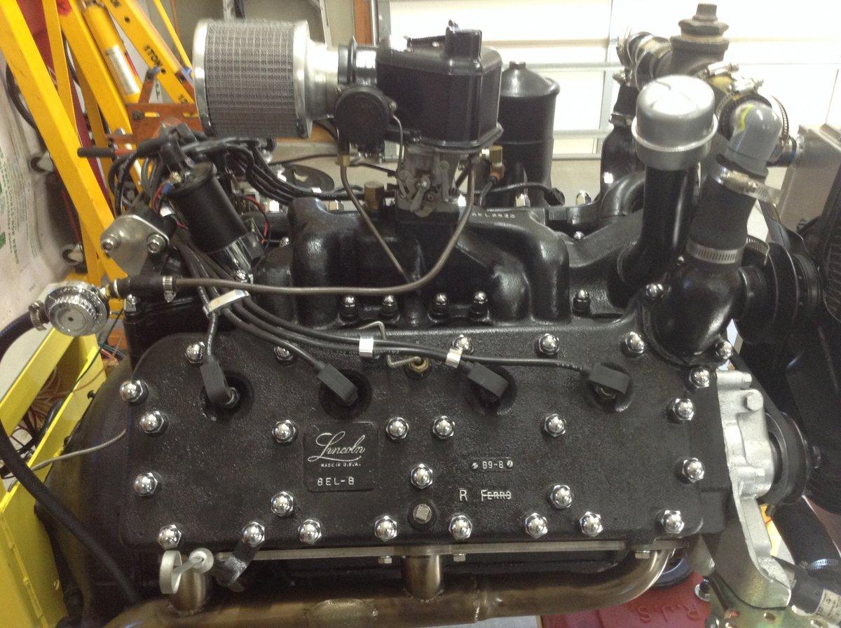 SOLD>>>1949 Lincoln 337 V8 & Transmission | The H.A.M.B.